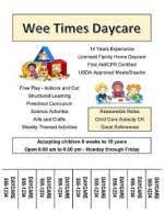 Samples Of Daycare Flyers Daycare Marketing How To Advertise Your Daycare