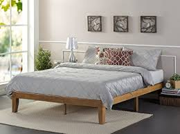 platform bed no box spring. Unique Box Zinus 12 Inch Wood Platform BedNo Boxspring NeededWood Slat SupportRustic In Bed No Box Spring E