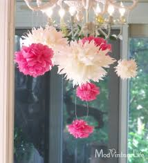 tissue paper flowers the tutorial