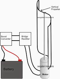 simplest windmill generator circuit