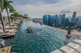 Inside the hotel with the worlds best infinity pool Daily Mail Online