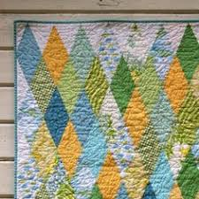 diamond trick - love the colors too!! | i QUILT | Pinterest ... & diamond quilt Adamdwight.com