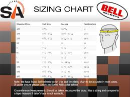 Bell Size Chart Bell Custom 500 Carbon Osprey Helmet
