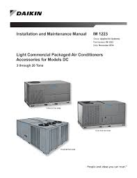 Daikin Air Conditioner Red Light Daikin Models Dc Light Commercial Accessories