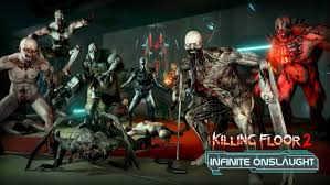 killing floor 2 infinite onslaught update adds new endless mode new map and tons more