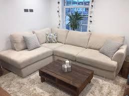 corner sofas dfs.  Corner Trilogy Cream RightHand Facing Arm Open End Corner Sofa DFS  Cushions In Sofas Dfs C
