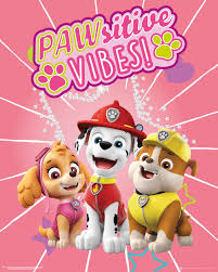 Paw Patrol Pawsitive Vibes Poster Postersnl