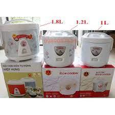 DGD Nồi cơm điện mini giá rẻ Điện Máy Xanh ( Dung tích 1L, một.2L, 1.8L ) 4  5 chính hãng 250,000đ