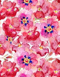 Watercolour Style Vinyl Cloth Nice Flower Wallpaper Photography Backdrops Fo Wedding Newborn Photo Studio Portrait Backgrounds