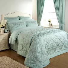 sea green bedding heart shaped island blue