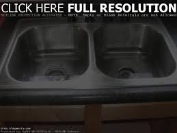 Kitchen Double Sink Clogged