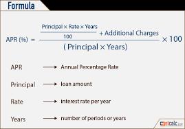 Apr Annual Percentage Rate Calculator