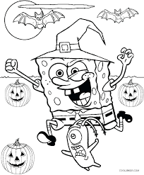 Sponge Bob Coloring Page Coloring Pages Online Book Ideal Pic