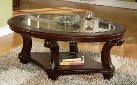 beveled glass coffee table sets style and durability to a home