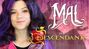 awesome disney descendants mal makeup tutorial kittiesmama