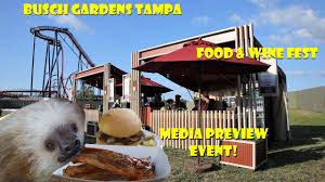 busch gardens ta bay food and wine festival