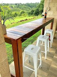 outdoor table top ideas the most outdoor bar table best ideas on within plan diy outdoor