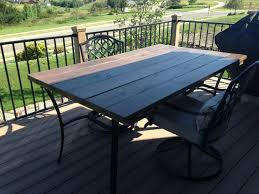 replacement outdoor glass table top