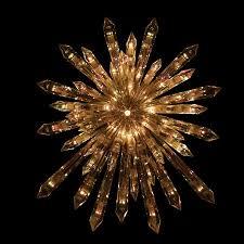 Mercury Glass Lighted Christmas Tree Star 6500 Via Etsy Christmas Tree Lighted Star