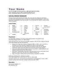Calaméo Social Media Manager Cv Template