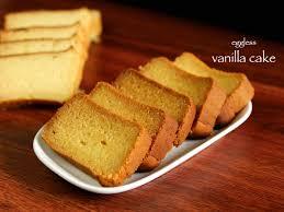Vanilla Cake Recipe Butter Cake Eggless Vanilla Cake Or Plain Cake