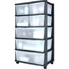 plastic storage drawers. Fabulous Plastic Storage Drawers On Wheels 5 Drawer Tower Stunning Sets Enchanting Wide Ideas Black