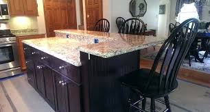 supports granite brackets bar counter top wet wood countertop