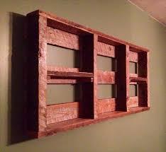 reclaimed pallet shelf