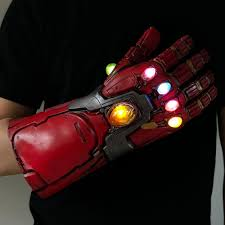 Led Light Iron Man <b>Infinity Gauntlet Avengers</b> Endgame <b>Cosplay</b> ...
