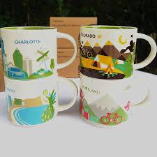 <b>Global Collection Ceramic</b> City Cup USA City Bone china Mug New ...