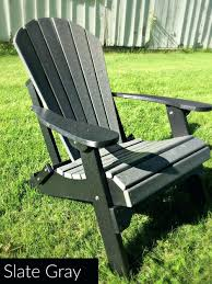 all weather adirondack chairs fan back all weather poly chair slate gray best all weather adirondack