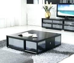 large black square coffee table contemporary tables floating image of gloss uk full size
