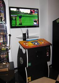 Golden Tee Cabinet Arcade Games Fun