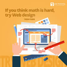 How Hard Is Web Design If You Think Math Is Hard Try Web Design Trish Parr