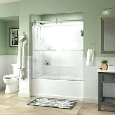 installing a glass shower door how to install a shower door on bathtub bathtubs medium size