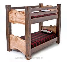Reclaimed Wood Bunk Bed