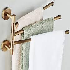 towel hanger. BECOLA European Towel Rack Toilet Bar Bathroom Antique Rotary Activities 3 BR 88013-in Racks From Home Improvement Hanger G