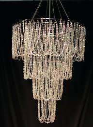fake crystal chandelier