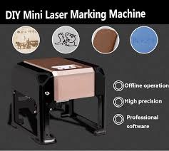 mini 3w diy co2 laser engraving machine portable desktop laser engraver for wood paper leather