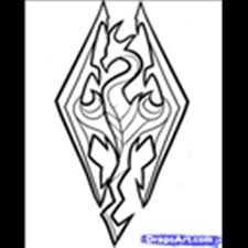 how-to-draw-skyrim,-skyrim-logo-step-5 - Roblox