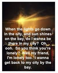 City Of Lights Song Lyrics Journey Lights Song Lyrics Music Lyrics Great Song