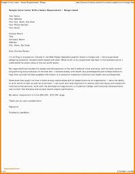 Job Application Cover Letter Via Email Word Doc Format