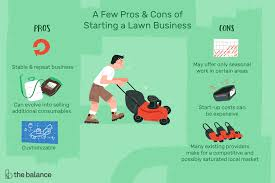 Budget Lawn Care Pros And Cons Of Starting A Lawn Care Business