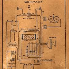 show tell antique and vintage kellogg telephones collectors kellogg oak crank wall telephone wiring diagram