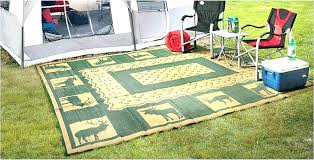 outdoor patio mats rugs for outside rug contemporary camping mat rv 6 x 9 outdo