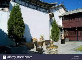 A Boutique Hotel Linden Centre A Boutique Hotel In Dali Yunnan Stock Photo