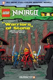 LEGO Ninjago #6: Warriors of Stone | Lego books, Graphic novel, Ninjago