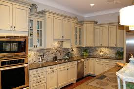 Antique Cabinets For Kitchen Antique White Paint For Kitchen Cabinets Kitchen Homes Design