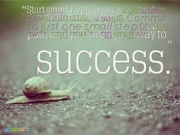 Small Life Quote Amazing Life Coaching Tip Start Small Every Goal Can Be Broken Down Into