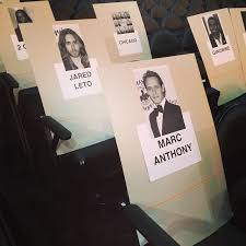 Grammys Seating Chart